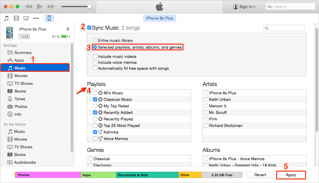 How to add itunes music to new computer