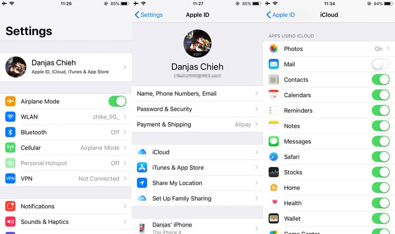 How to Move Sony Xperia Contacts to iPhone Quickly
