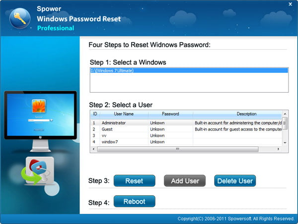 How to Reset Windows 7 Password on HP PCs Quickly and Safely